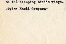 Tyler Knott / i l.o.v.e
