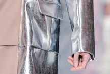Trend Forecast / tracks insights into developing colour trends and movements in fashion design - Metallic