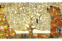 Artist - Gustav Klimt / **Add proper titles and dates to artwork. -CAB / by Cindy Briedis