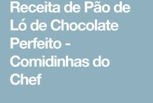 Pão-de-lo de Chocolate