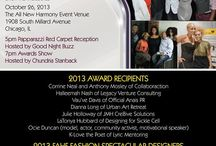 Fashion Arts and Humanity Fete Awards / http://fahfawards.org/2013-fahf/