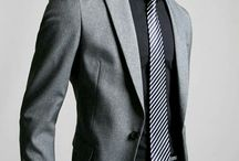 grey suit dark
