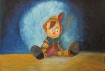 Pinocchio / My olipaints