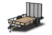 Utility Trailers / Trailers allow you to haul around anything.  Utility trailers are great for moving furniture, lawn care equipment, building supplies, appliances, bikes, motorcycles, and ATVs. See our whole line at http://www.kaufmantrailers.com/utility-trailers/