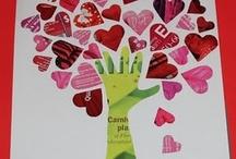Valentine's Day art and craft