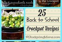 Crockpot recipes / by Marlene Warren