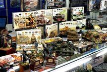 Hobby dioramas