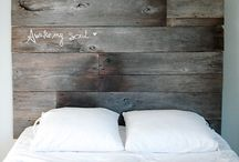 {home} headboard ideas