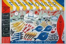 Salmon & the Sea & fishers/fishies in the rivers lakes and streams