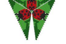 Peyote trojúhelníky