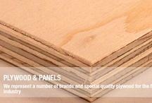 Plywood and Panels / We offer special quality plywood for the furniture industry such as Beech plywood, particle boards, and veneer panels. We represent a number of brands and special quality plywood for the furniture industry.