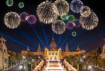 お祭り バルセロナ / バルセロナでは、一年中、面白いお祭りが開催されます。  カタルーニャの文化がよく分かるお祭りに参加しませんか?