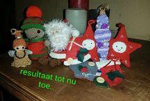 Kerstmannetjes / Mooie kerst dingetjes als kerstkaart...