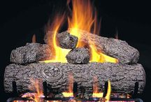 Traditional Gas Fireplaces / From traditional wood to modern shapes, gas log fireplaces can provide the look you love with the functionality you need for your home. Got questions? Call our gas log experts for help at 1-800-201-1193 or visit http://bit.ly/GasLogsOnSale