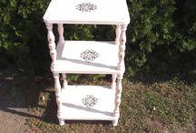 shabby chic bútorok / Régi bútorok új köntösben