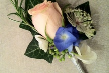 Floral Buttonholes & Corsages / Inspiration for the discerning wedding couple!