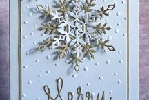 Cards - Snowflakes
