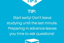 Study Tips / Some of our top tips to help you study!