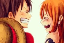 LuNa / Monkey D. Luffy x Nami - One Piece