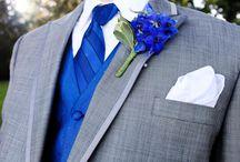 Blå dresser