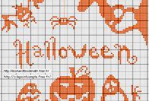Ponto Cruz Halloween