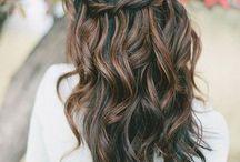 MJ&LR&YR wedding hair / Hair makeup