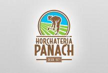 Horchatería Panach / Trabajos de identidad corporativa, diseño de campañas, cartelería, flyers informativos, lonas y otros soportes.