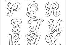 moldes letras