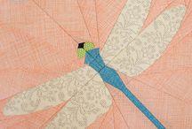 šití přes papír
