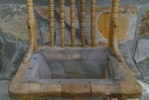 krzesło kwietnik