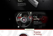 Automotive webdesign