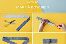 Fashion: Fabric belts