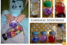Brinquedos pedagógicos e caseiros