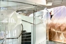 Supreme Court - Wellington New Zealand / Toughened Curved Glass