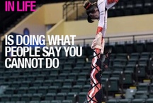 My life's greatest joys / I am an acrobat and this quote really touches my heart