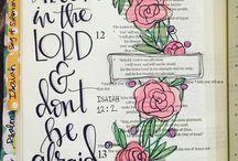 journaling / bible