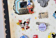 Disney pin displays