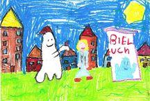 Dzieci rysują Bielucha / Rysunki dzieci