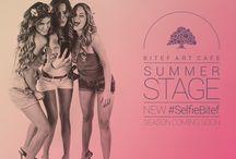 Summer Stage BitefArtCafe / U grada i Kalemegdanske tvrđave nalazi se skrovište gde ste  na raspolaganju čitav dan! Verovatno nećete misliti da je to isto mesto kada se kafić, posle opuštenog dana, uživancije na suncu, odmaranja, sunčanja, surfovanja inernetom… Poput svoje zimske sestre, BitefArtCafe Summer Stage klub je centar najbolje LIVE svirke u gradu i domaćin velikih svetskih i domaćih imena jazz, soul, funk, pop muzike!