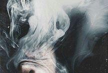 røyk, damp, tåke