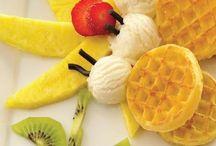 food art for children - obrázky z jedla pre detičky