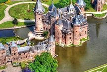 Holland with it's Dutch castles & places