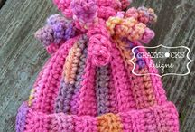 Crochet: Hats/headbands