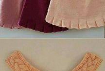 bebek için örgüden kıyafetler :)