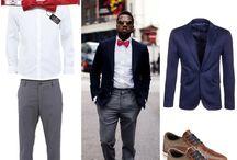 Outfits by Alfons.cz / Zamilujte si pánské formálnější outfity, doplněné o kravaty, motýlky, kapesníčky, ozdoby do kapsičky saka od Alfons.cz. #menstyle #menfashion #men #suit #tie #bowtie #pocket_square #cufflinks