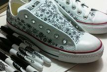 Kenkien koristelu/Decorating shoes