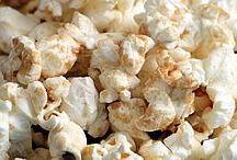 Home-made Microwave popcorn