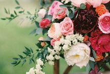 Orange/Pink/Marsala Flower Ideas