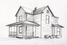 Ev iç mekan çizimleri