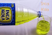 Inca Kola / Bebida gaseosa peruana